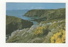 View From Solva Towards Ramsey Island 1989 Postcard 526a