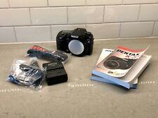 PENTAX Pentax K K20D 14.6MP Digital SLR Camera - Black (Body Only)
