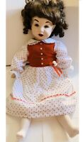 Simon Halbig Reproduction 1983 Doll With K&R Initials And DbR On The Back Neck
