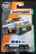 2017 Matchbox  Mercedes Benz G63 AMG 6X6  Card #91  RARE!  MB-6-091717