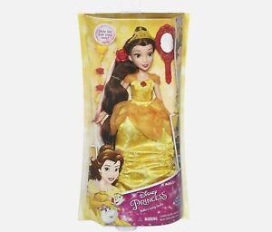 Disney Princess DELUXE BELLE Doll Long Locks Hair Styling Beauty & Beast NEW