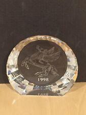 SWAROVSKI 1998 PEGASUS DISC PAPERWEIGHT MIB