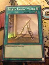 *** BROKEN BAMBOO SWORD *** OP08-EN009 SUPER RARE YUGIOH! MINT/NM