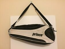 Prince Triple black/white tennis Racquets carrying case/bag Racquet Holder