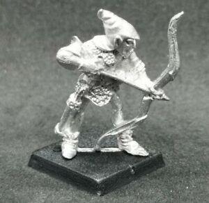 Citadel Middle Earth ME32 High Elf LOTR Warhammer 1985 Archer Bow Metal OOP