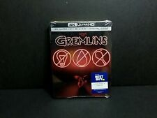 Gremlins (4K UHD, Blu-ray, Digital, 2020) Best Buy Exclusive Steelbook. New