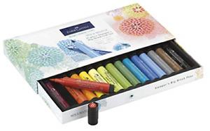 Faber Castell Pitt Artist Pen Stamper's Big Gift Set, 15 Assorted Brush Markers