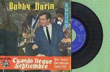 BOBBY DARIN / Come September Multiplication BELTER 50.526 Press Spain 1962 EP EX