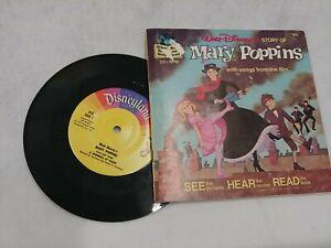 Walt Disney Marry Poppins  302 Read-Along Book / Record 33⅓ RPM