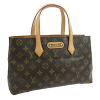 LOUIS VUITTON WILSHIRE PM HAND TOTE BAG PURSE MONOGRAM CA3160 M45643 38304