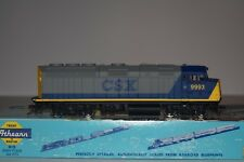 HO Scale Walthers CSX F40PH Powered Diesel Locomotive 9993 C5389