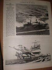 Photo article US Navy USS Enterprise with sixth fleet 1964 ref AY