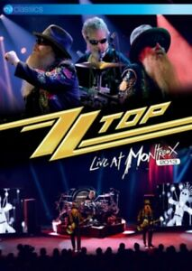 ZZ Top Live at Montreux 2013 DVD All Regions NTSC 5.1 surround sound NEW