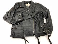 Harley-Davidson Women's Winsome Studded Leather Biker Jacket 97101-16VW XL
