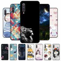Case For Xiaomi Mi A3 Lite Phone Cute Printed Soft Silicone Back Cover Cute Top