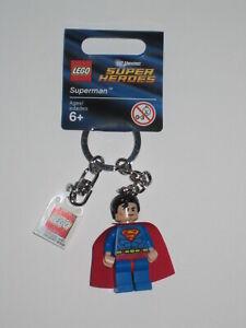 Lego DC Super Heroes 853430 SUPERMAN Schlüsselanhänger Keychain NEU & OVP NEW