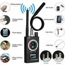 RF Signal detector Anti-spy Detector Camera K18 GSM Audio Bug Finder GPS Scan