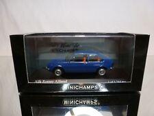 MINICHAMPS 120100 ALFA ROMEO ALFASUD 1972 - BLUE 1:43 - EXCELLENT IN BOX