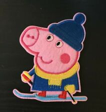 Peppa Pig Patch embroidery  SEW/IRON on 4