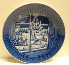 "Julen1976 Grande Porcelain of Copenhagen 7-1/4"" Dia. Collector Plate Euc"