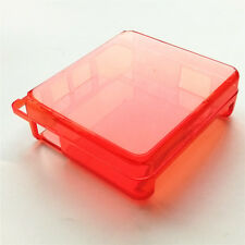 Clear Red Hard Case Cover Protector For Nintendo Game Boy Advance SP GBA SP