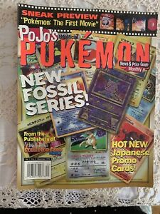 Pojo's Unofficial Pokemon News & Price Guide Magazine 1999 (Vo. 1 / No. 2)