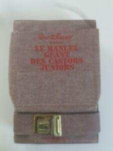 LE manuel geant des Castors Juniors Disney Hachette 1977 bon etat