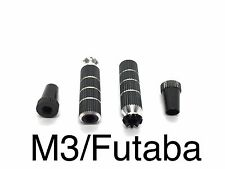 1Set M3 Long Black Futaba/Spektrum DX6i DX7S DX8 DX9 TX Gimbal Sticks 016-03003A