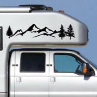 Tree Mountain Decal Scene Large Northwest 100cm Car Sticker Truck RV Offroad New