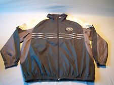 NFL The New York Jets Fully Zip Windbreaker Jacket Men's Size XXL