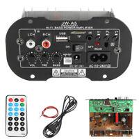 Universal Pro 30W bluetooth Car Subwoofer HiFi Bass Power Amplifier Board TF USB