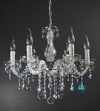 KRISTALL KRONLEUCHTER Ermes 6Leuchten Ø55cm mit SPECTRA® Crystal von SWAROVSKI