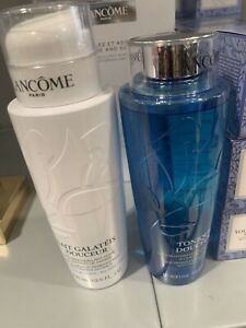 demaquillant + lotion lancome