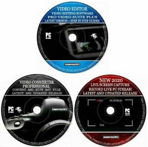 Video Audio Editor Converter Screen Recorder Slide Show & Film Maker DVD Creator
