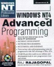 Windows Nt 4 Advanced Programming (Windows Nt Professional Library) Rajagopal,
