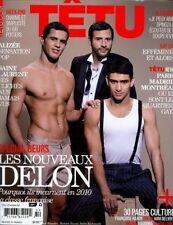 Tetu Magazine #154 4/2010 gay BENOIT BOUZEKRI KECHIOUCHE