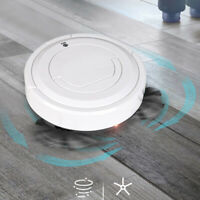 1pc 3-In-1 Robot Vacuum Cleaner 1800PA 360° Sensor Smart Sweeping Robot White