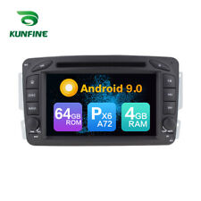 Android 9.0 Car DVD GPS Player Navigation Stereo for Benz C W203/CLK W209 Radio