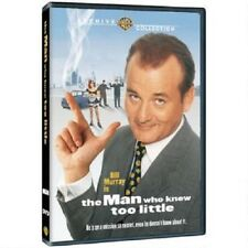 THE MAN WHO KNEW TOO LITTLE. Bill Murray. Region free. New sealed DVD.