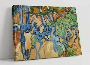 """VINCENT VAN GOGH """"TREE ROOTS"""" -CANVAS WALL ART PICTURE PRINT- FAMOUS PAINTING"""