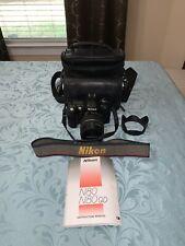 Nikon N80 con Tamron LENTE A LENTE A 28-200 mm