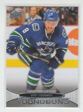 (63374) 2011-12 UPPER DECK CODY HODGSON YOUNG GUNS RC #245