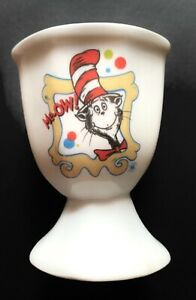 Cat in the Hat Universal Studios Licensed 2003 Egg Cup