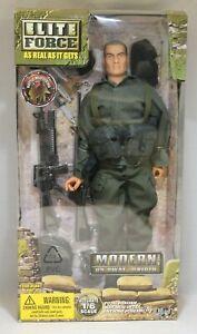 "BBI Elite Force Modern 1/6 12"" Figure Modern US SWAT Sniper Blue Box Toys"