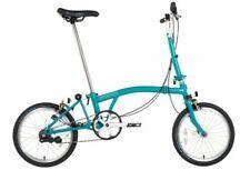 "Brompton B75 - Blue -16"" Folding Bike"
