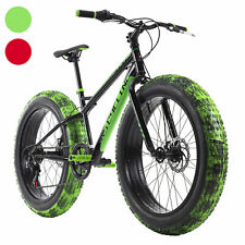 Fatbike 24'' Mountain Bike Kinder SNW2458 RH 38 cm 6 Gänge KS Cycling M192K