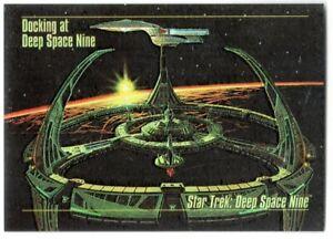 STAR TREK 1993 SKYBOX MASTER SERIES SPECTRA ETCHED FOIL INSERT CARD S-1