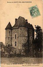 CPA Chateau de BOURS-MAREST Le Donjon (376029)