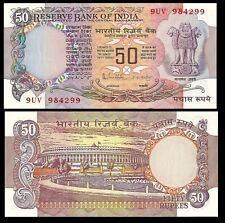 INDIA 50 RUPEES 1978 P 84c Sign 85 R. N. Malhotra UNC W/H
