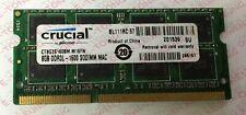 Laptop Memory/Ram crucial 8GB DDR3L-1600 CT8G3S160BM.M16FN SODIMM 204pin MAC